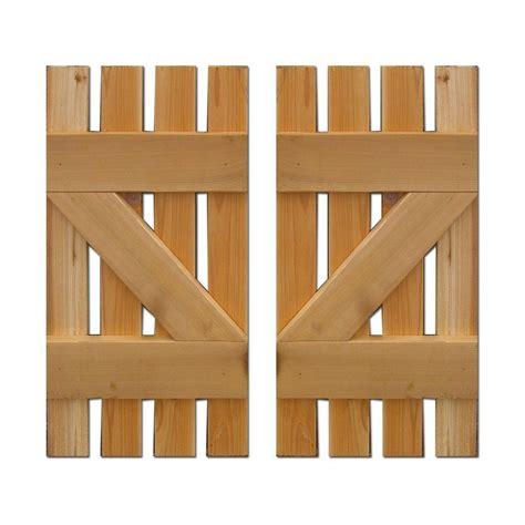 design craft millworks 15 in x 48 in baton spaced z