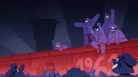 berlin now the rise an animated history documenting the rise and fall of the now defunct berlin wall laughing