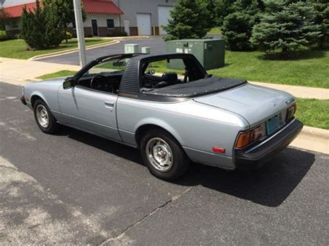 1980 Toyota Celica Convertible Sell Used Sunchaser Convertible 1980 Toyota Celica