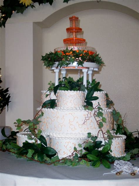 wedding cakes  fountains   fun