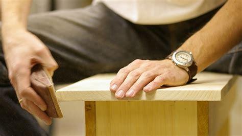 Schleifen Und Polieren Von Holz by Schleifen Polieren Holz Richtig Behandeln