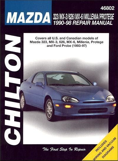 hayes auto repair manual 1996 mazda millenia navigation system mazda 323 mx 3 626 mx 6 millenia protege 1990 1998 repair manual 0801991307