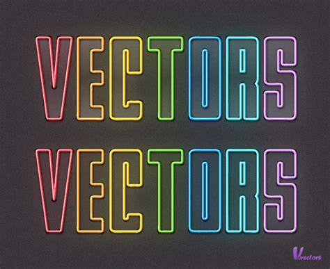 typography tutorial neon quick tip how to create colorful neon text with adobe