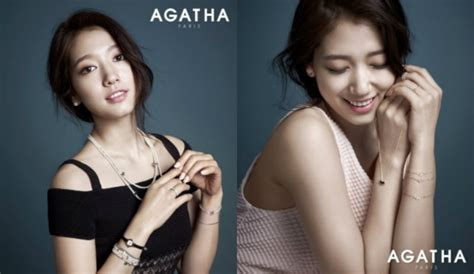 Park Shin Hye Is an Autumn Goddess for Agatha   Soompi