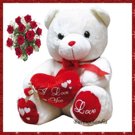 imagenes de osos con rosas y corazones imagenes ositos con corazones imagui