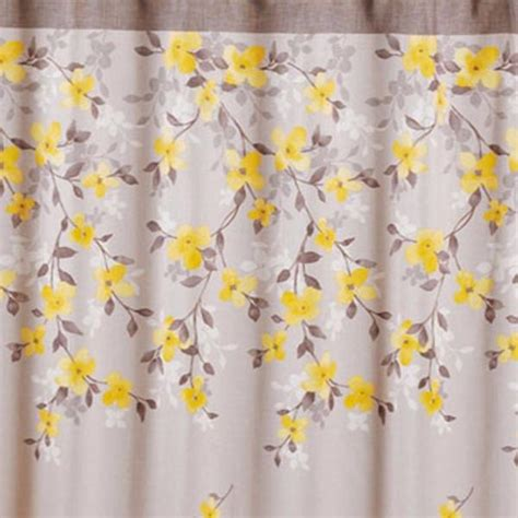 floral shower curtains fabric spring garden floral fabric shower curtain curtainshop com