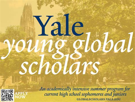 Welcome Weekend 2017 Yale Mba by Yale Global Scholars Program 2018 For Outstanding