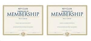 Honorary Membership Certificate Template by Membership Certificate Template 15 Free Word Pdf