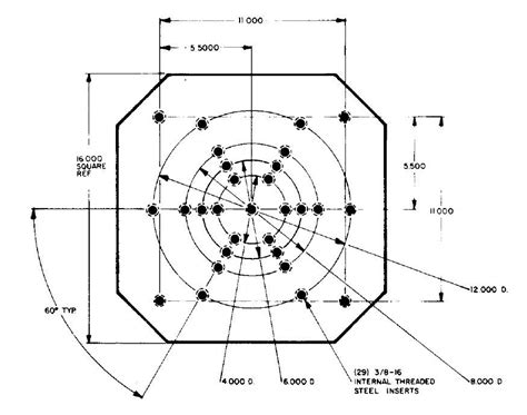 bolt pattern drawing drawings experior laboratories