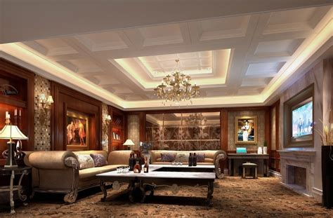 luxury living room design free download european style luxury living dining room