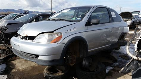 toyota car yard junkyard find 2000 toyota echo the about cars