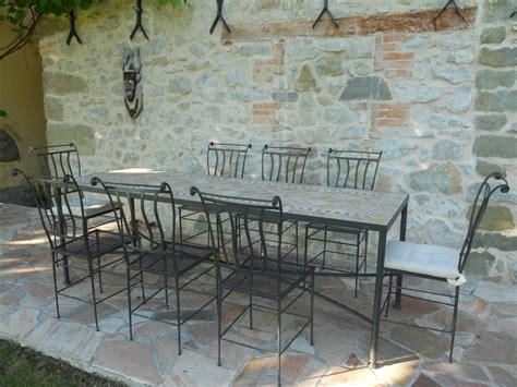 tavoli in ferro battuto per esterni artistica ferro battuto design e artigianato in ferro