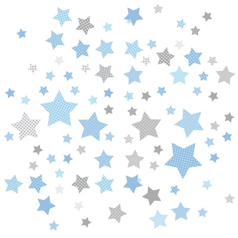 kinderzimmer blau grau dinki balloon kinderzimmer wandsticker sterne blau grau 68