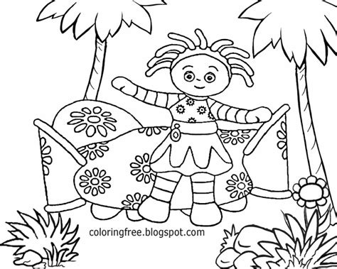 coloring pages in the night garden free coloring pages printable pictures to color kids