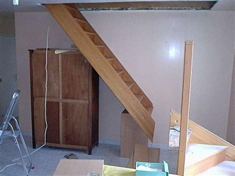 comment poser un escalier am 233 nagement des combles