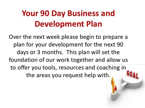 90 day business plan for programs 2012