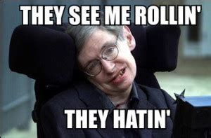 Stephen Meme - 20 stephen hawking quotes on love and life