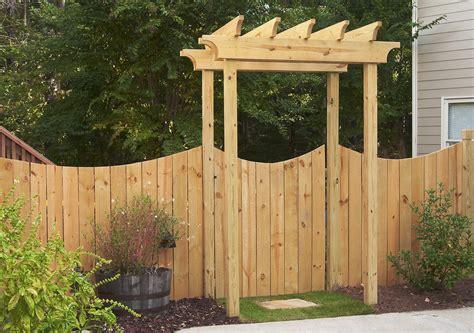 beautiful gate arbors