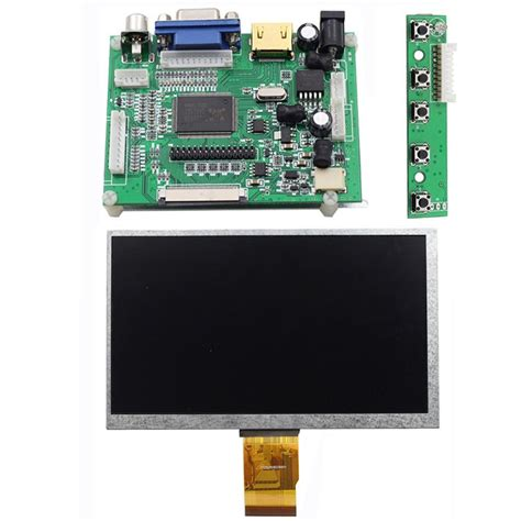 Lcd Raspberry Pi sunfounder 7 quot raspberry pi tft lcd screen monitor at070tn90 with hdmi vga input 47 99 picclick