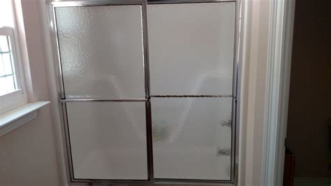 Custom Shower Glass Door Installed 2 Custom Glass Shower Doors Table Top Advantage Glassworks