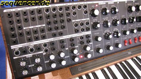Softcase Ekonomis Moog Minimoog Voyager Xl moog minimoog voyager xl analog synthesizer
