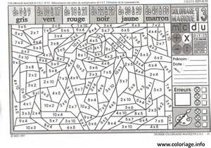 Coloriage Magique Ce2 Multiplication Dessin