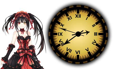 clock eyes themes tokisaki kurumi clock xwidget by adiim on deviantart