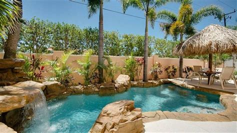 heated tropical poolwaterfall bedbath  vrbo