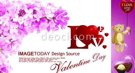 Valentines Day Card Template Psd by S Day Card Design Templates Psd Source Files