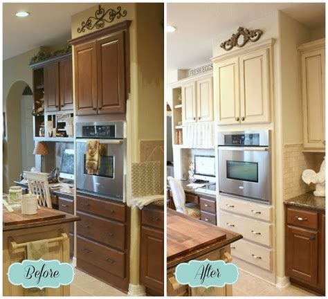 painted kitchen cabinets ideas before and after chalk paint kitchen cabinets creative kitchen makeover ideas