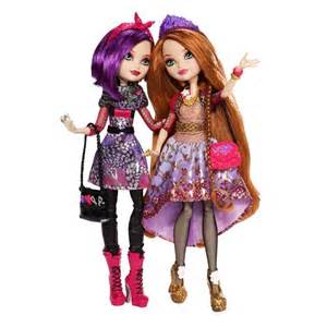 The Barn Hair Studio Ever After High Holly And Poppy O Hair Sisters Dolls 2