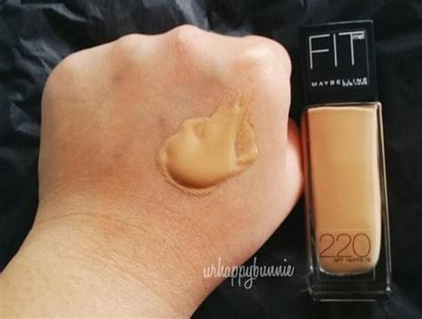 Maybelline Fit Me Foundation 220 maybelline fit me 220 mac equivalent