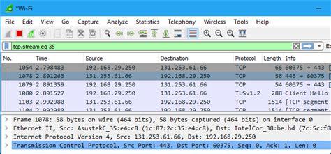 wireshark tutorial ssl decryption wireshark display filter by mac