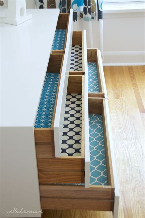 Diy Fabric Drawers by Best 20 Shelf Liners Ideas On Shelf Paper