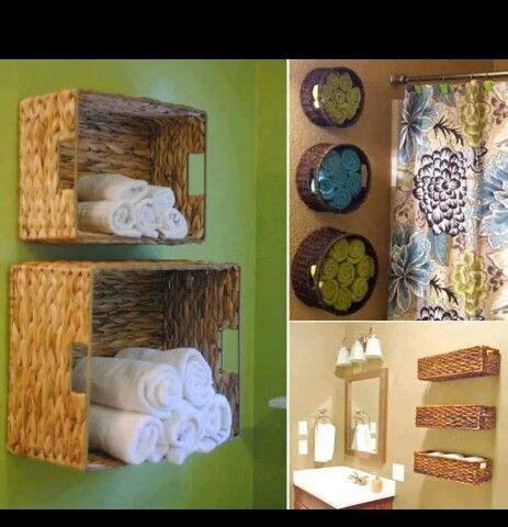 badezimmer handtuch dekorieren ideen 220 ber 1 000 ideen zu k 246 rbe dekorieren auf