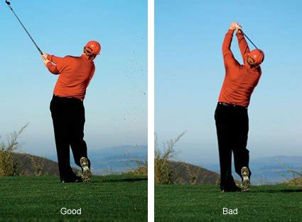 keeping hands low in golf swing tips of the week marino s golf