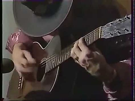 stevie ray vaughan acoustic guitar solo rare video footage youtube
