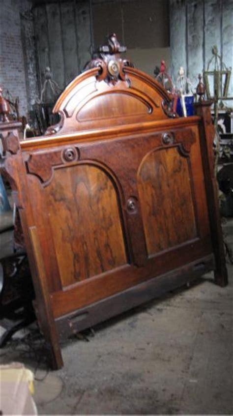 antique wood headboard antique victorian headboard hand carved wood ebay