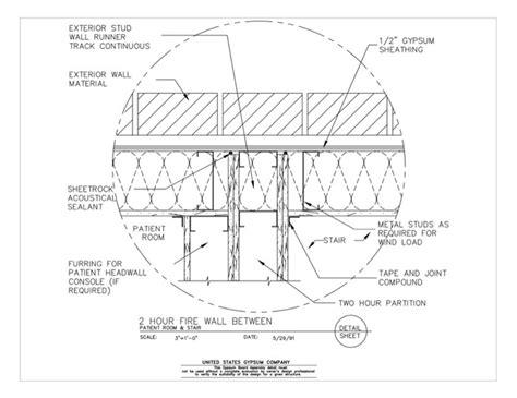 2 hour ceiling assembly 28 2 hour ceiling assembly gypsum 1 hour