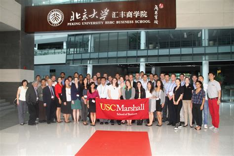 Usc Finance Mba by Usc Marshall School Of Business Mba Program Visits Phbs