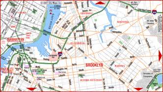 Brooklyn New York Map by New York City Brooklyn Map New York City Auto Auction