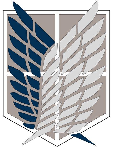 survey corps anime attack on titan survey corps logo by yumakirosaki on