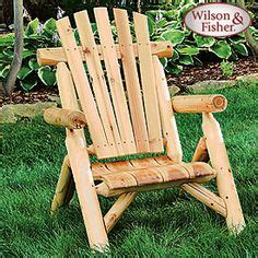 Wilson And Fisher Log Chair by Things For Our Future Home On 49 Pins