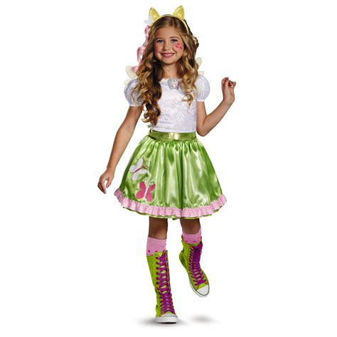 Dress Onde Rainbow my pony fluttershy equestrian classic costume seasonal