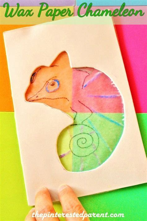 color changing paper color changing wax paper chameleon the pinterested parent