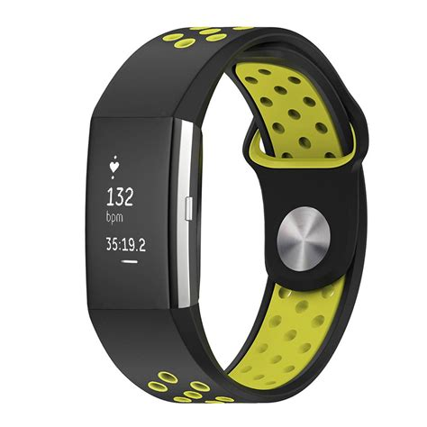 Silicone Sport Band For Fitbit Charge 2 breathable sports soft silicone replacement band for fitbit charge 2 ebay