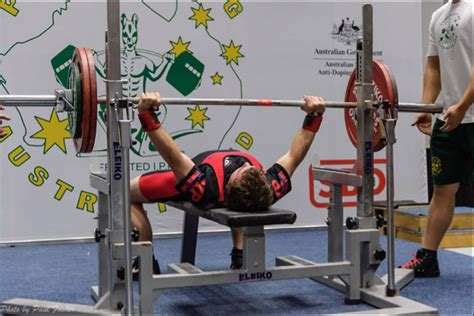 jono george breaks australian record again with 151kg