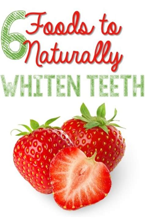 7 Foods To Avoid For Whiter Teeth by 6 Foods To Naturally Whiten Your Teeth Diy Health Diy