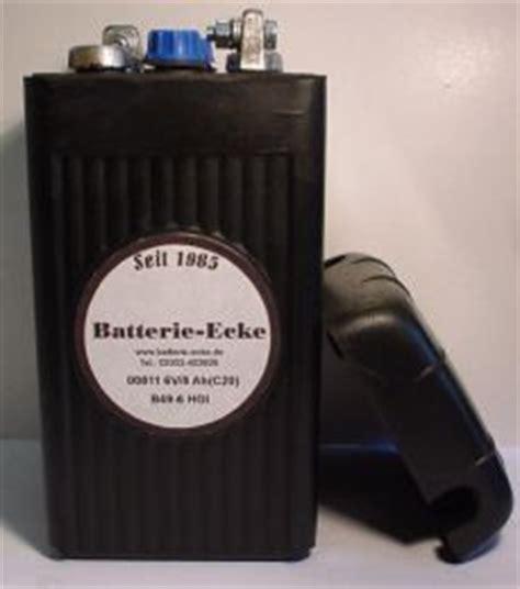Oldtimer Motorradbatterien 6 Volt by Oldtimer Motorrad Batterie Ecke Batterien