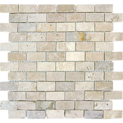 backsplash tile home depot ms international chiaro brick 12 in x 12 in x 10 mm